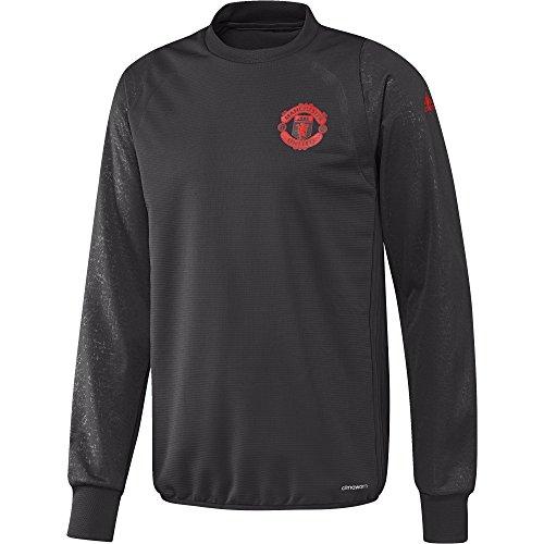 adidas MUFC EU TRG TOP-Sweatshirt Manchester United FC für Herren XS Negro (Neguti/Rojbri) - Pullover United Manchester