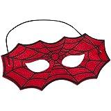 Den Goda-Fen 063509-Máscara de Spiderman fieltro, talla única