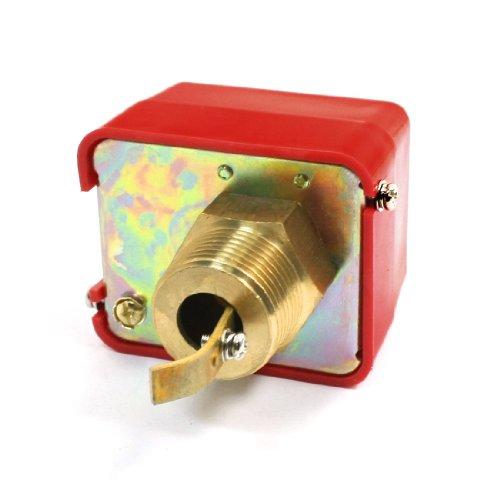 Aexit Gewinde Anschließen von Durchfluss Paddel Control Switch 220VAC 15A SPDT G, 2.54 cm - Verstellbare Paddel-design
