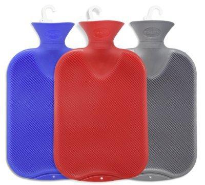 Fashy Bolsa de agua caliente con surcos, 2 l, gris carbón, preisvergleich