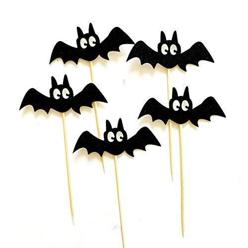 Mitlfuny Festival dekor,Christmas,Halloween,Weihnachtsdekoration,Halloween deko,Halloween kostüm,Halloween Dekoration Cake Topper Halloween Spinne Kuchen einfügen Party - Paper Doll Kostüm