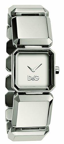 D&G DW-0451 - Reloj de Señora movimiento de cuarzo con brazalete metálico