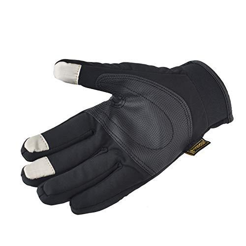 Accessori moto,guanti moto invernali,guanti con touch screen per uomo e donna,guanti caldi termici esterni per moto mtb palestra bici ciclismo alpinismo scooter xl
