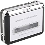 MagiDeal 1Piece USB Cassette Tape To MP3 PC Converter Stereo Audio Player