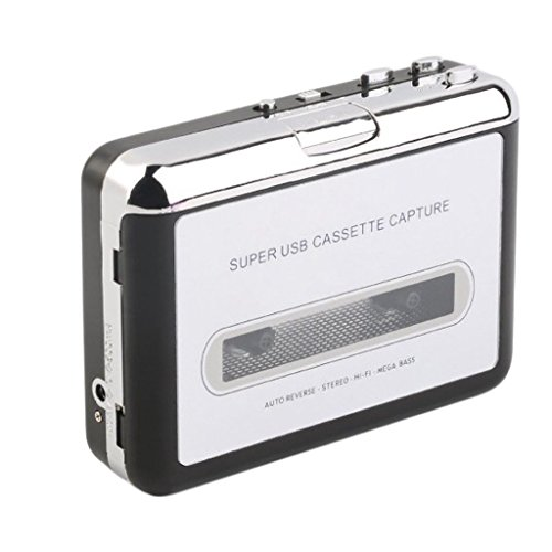FLAWISH NF&E Walkman Digital Tape-to-MP3 Converter USB Cassette Adapter HiFi Music Player
