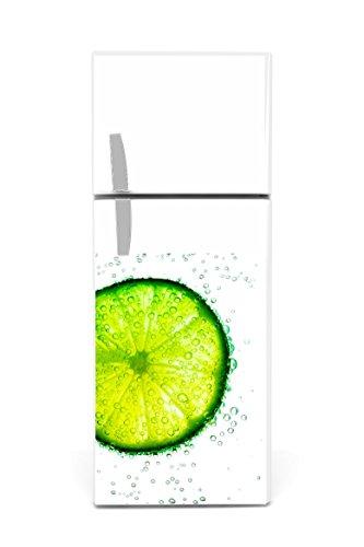 Kühlschrank Aufkleber 60 x 90 cm Limette