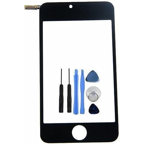 BisLinks para iPod Touch 33rd generación parte delantera parte superior digitalizador de pantalla táctil LCD de cristal