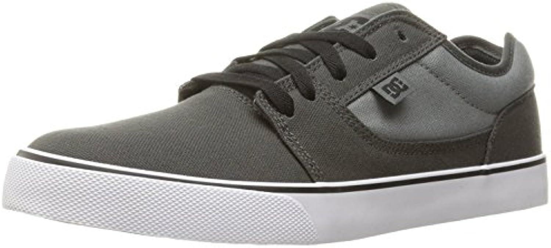 DC Men's Tonik TX Sneaker, Charcoal/Cool Grey, 38 D(M) EU/5 D(M) UK
