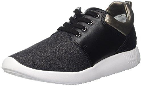 Lumberjack Damen Tory Niedrige Sneaker Nero (Black/Gun Metal)