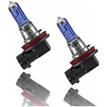 H835W - Xenon Look lámpara halógena bombilla bombilla de repuesto set H8 35W 12V