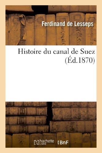 Histoire du canal de Suez
