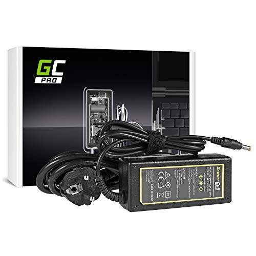 Green Cell® PRO Serie Netzteil für HP Compaq Presario V5204NR V5204TU V5204US V5205 V5205NR V5205TU V5206 V5206OM V5206TU Laptop Ladegerät inkl. Stromkabel (18.5V 3.5A 65W) -