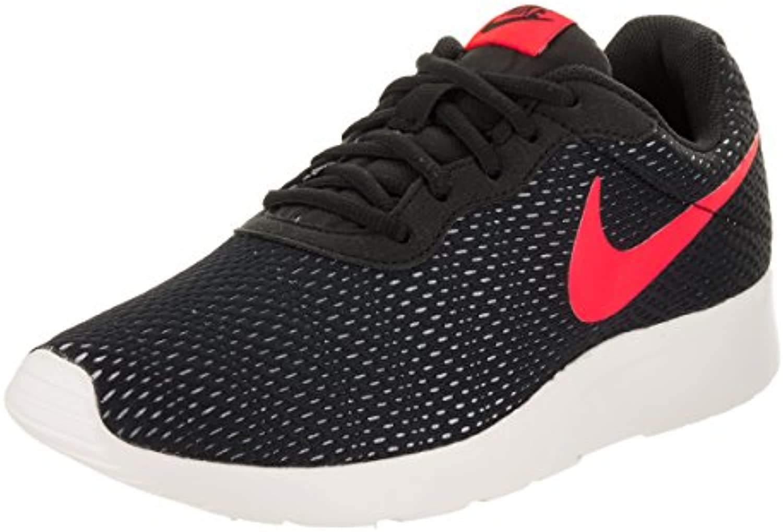 Nike Tanjun Se Zapatillas Deportivas, Hombre, Black/Solar Red-Pure Platinum-Sail, 42
