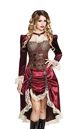 Boland 83648 Erwachsenen Kostüm Lady Steampunk, Womens, 40/42