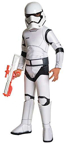 Star Wars Episode VII 4-teiliges Super Deluxe Stormtrooper Kostüm für Kids (L)