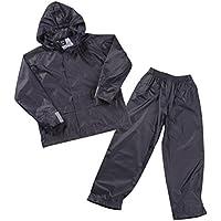 4 KIDZ Boys Kids Childrens Waterproof Jacket Coat Trousers Pants Set Hooded Tracksuit