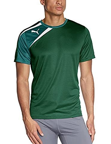 Puma Teamwear Spirit Tee Shirt Green Mens Size