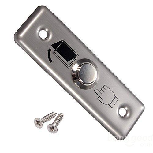 mark8shop Edelstahl Schalter Panel Tür Exit Push Button Zugang - Tür Control Panel