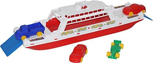 Polesie 56689 Baltische Fähre mit Mini Cars Boote Toys (Cars Lego Mini)