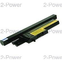 2-Power CBI1060H Ión de litio 5200mAh 14.4V batería recargable - Batería/Pila recargable (Ión de litio, 5200 mAh, Notebook / Tablet, 14,4 V, Negro, Lenovo ThinkPad X61)