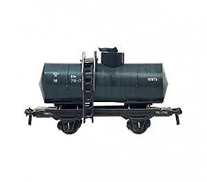 Clever PAPER-Keranova386 Colección De Ferrocarril Cisterna Fibra De Gasolina Puzle 3D, Multicolor Keranova_386-02