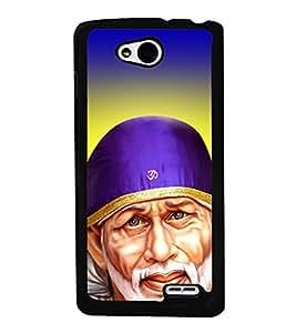Sai Baba Sai Ram 2D Hard Polycarbonate Designer Back Case Cover for LG L90