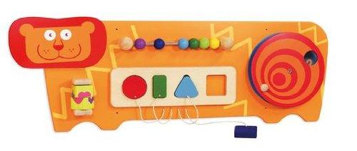 Bartl I\'m Toy 100396 Wandspiel Löwe Motorikspiel für Kinderzimmer, Wartezimmer, Kinderkrippe