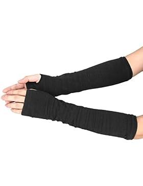 RETUROM Guantes de invierno de la moda nueva brazo de la muñeca calentador de la mano de punto largo de la manopla...