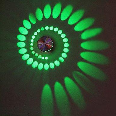 3W Künstlerische Moderne LED-Wandleuchte mit Streulicht Design Strudel Schatten Dehnen von Licht 518 auf Lampenhans.de