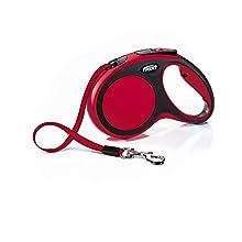 Croci C5055671 Guinzaglio Flexi New Comfort Tape 5M, M, Rosso