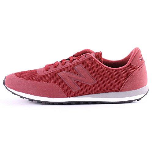 New Balance - U410twb, Scarpe sportive Unisex – Adulto Rosso