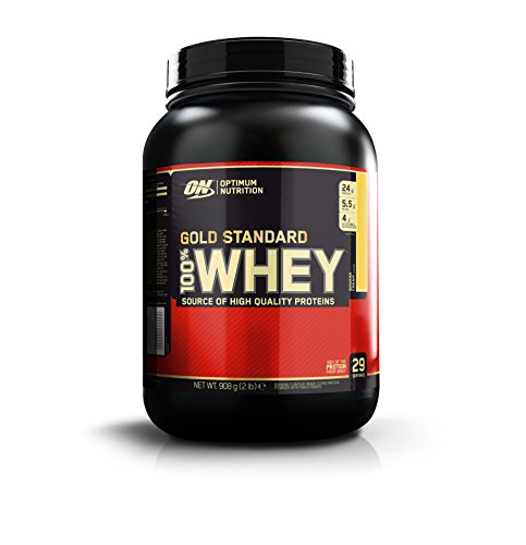 Optimum Nutrition Whey Gold Standard Protein, Double Rich Chocolate, 1er Pack (1 x 0,45kg)