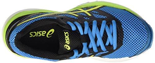 Asics Kinder-Unisex Gel-Cumulus 18 Gs Laufschuhe für Das Training auf Der Straße Blau (Island Blue/safety Yellow/Black)