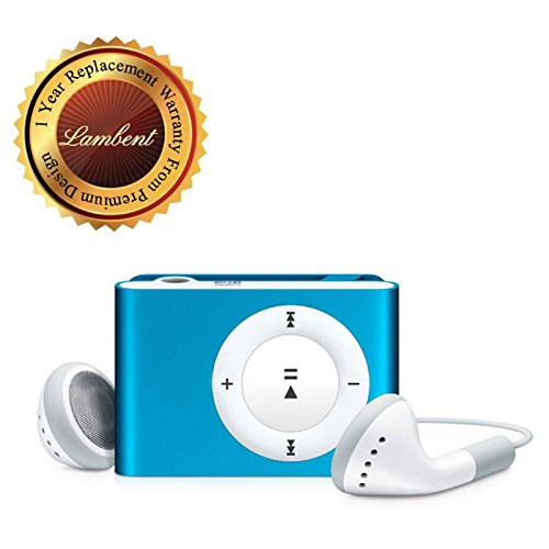 Lambent iPod Clip MP3 Player With Stylish Design With Earphone USB Cable (1 Year Warranty)
