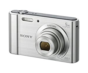 Sony W800/B 20 MP Digital Camera