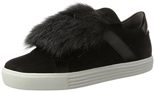 Kennel und Schmenger Damen Town Sneaker, Mehrfarbig (Schwarz/Antracite Sohle Weiss), 38 EU