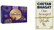 Thrilling Gifts - One Arranged Murder by Chetan Bhagat + Cadbury Celebrations Premium Assorted Chocolate Gift