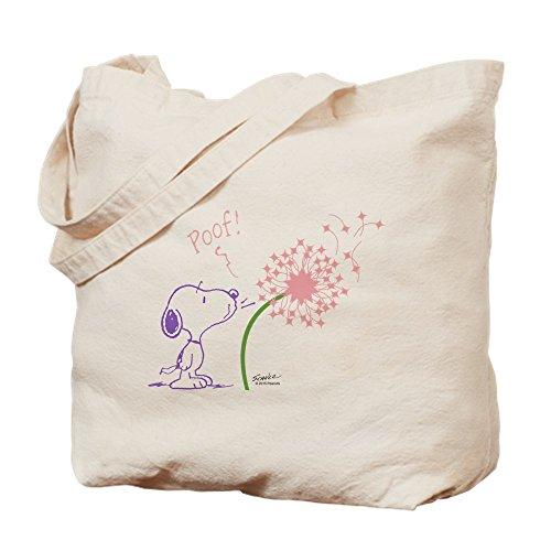 CafePress-Snoopy Pusteblume-Leinwand Natur Tasche, Reinigungstuch Einkaufstasche Tote S khaki