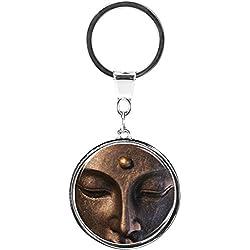 metALUm Llavero de metal / Budismo / Buda / 6669006S