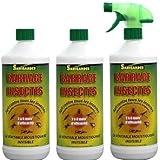 Lot de 3 litres barrage à insectes