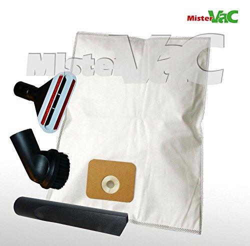 10x Sacs Aspirateur + kit de buses Convient Nilfisk Multi 20T