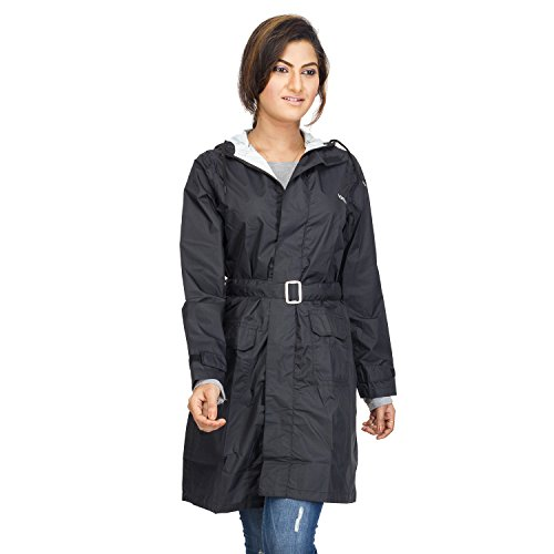 Versalis Womens Britney Raincoat - Black (XL)