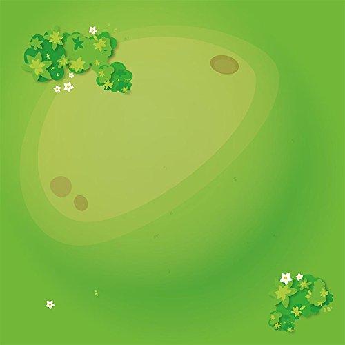 Playmatt Spielmatte für Tisch oder Boden Graslandschaft, schadstofffrei, rutschfest, waschbar, 55 x 55 cm, passt perfekt auf IKEA Lack Tisch
