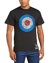 The Who Target Distressed - T-shirt - coupe droite - Col rond - Manches courtes - Homme