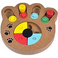 YOUJIA Juguetes Interactivos para Perro Anti-tragando Alimentador Comedero Cuenco para Mascotas (Garras forma
