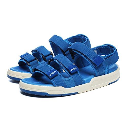 Femmes chaussures été nouvelle plage chaussures Couple sport sandales rétro mode décontracté sauvage chaussures rouge vert bleu noir gris GAOLIXIA