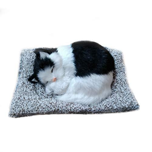 ZCP Decorazione Auto Simulazione di Carbone Attivo Cute Cat Fur Simulation Animal Handicrafts in Aggiunta alla Purificazione della Formaldeide Air Car Decorations