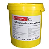 BiTherm 1K Bitumen Dickbeschichtung 30 Liter Spezial Kellerabdichtung Sonderpreis