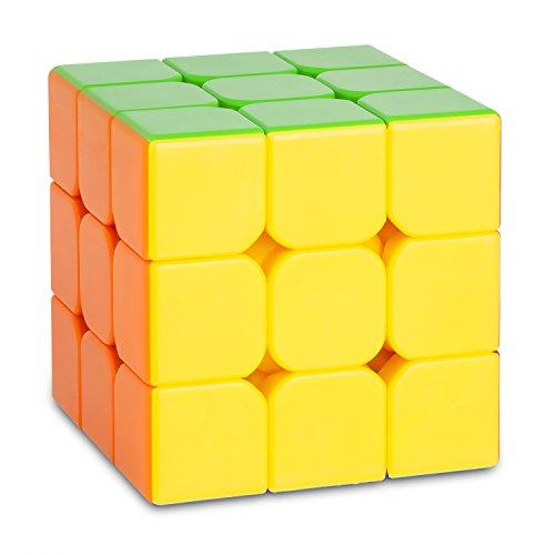 Preisvergleich Produktbild 3x3 Speed-Cube AMSTERDAM - 6-Colors ohne Sticker - Stickerless - Schneller und robuster Profi Speed-Cube 3x3 mit optimierten Dreheigenschaften für Speed-Cubing (3x3x3 Cubikon-Moyu Aolong V2)