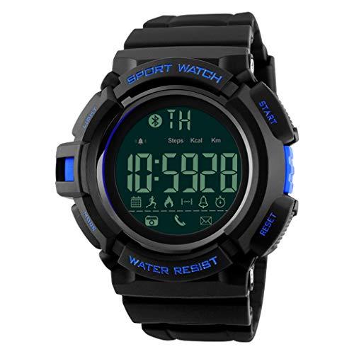 Watch Sport-Echtzeit-Rekord, Multi-Funktions-Outdoor-Outdoor-wasserdichte Armbanduhr (Color : A)